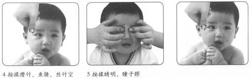 婴幼儿养肝明目按摩