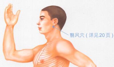 慢性咽炎按摩